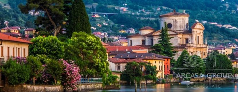 Озеро Изео, Ломбардия, Италия