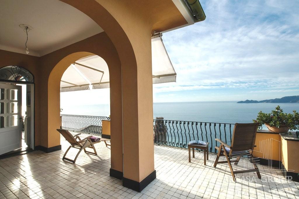 Attico a Zoagli in Liguria