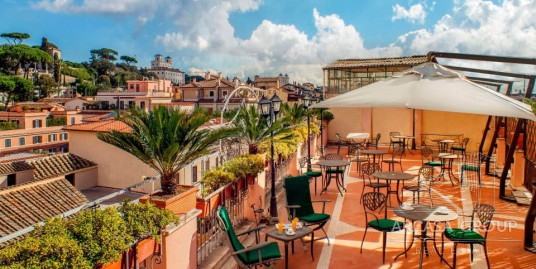 Гостиница рядом с Имперскими Форумами