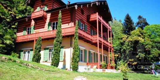 Villa a Ghiffa, Lago Maggiore, Piemonte