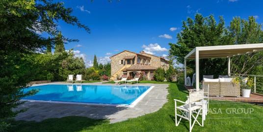 Роскошный загородный дом в Тоскане