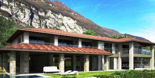Nuova villa sul Lago di Como, Lombardia