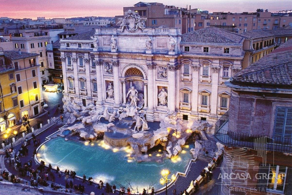 Роскошный пентхаус в историческом центре Рима