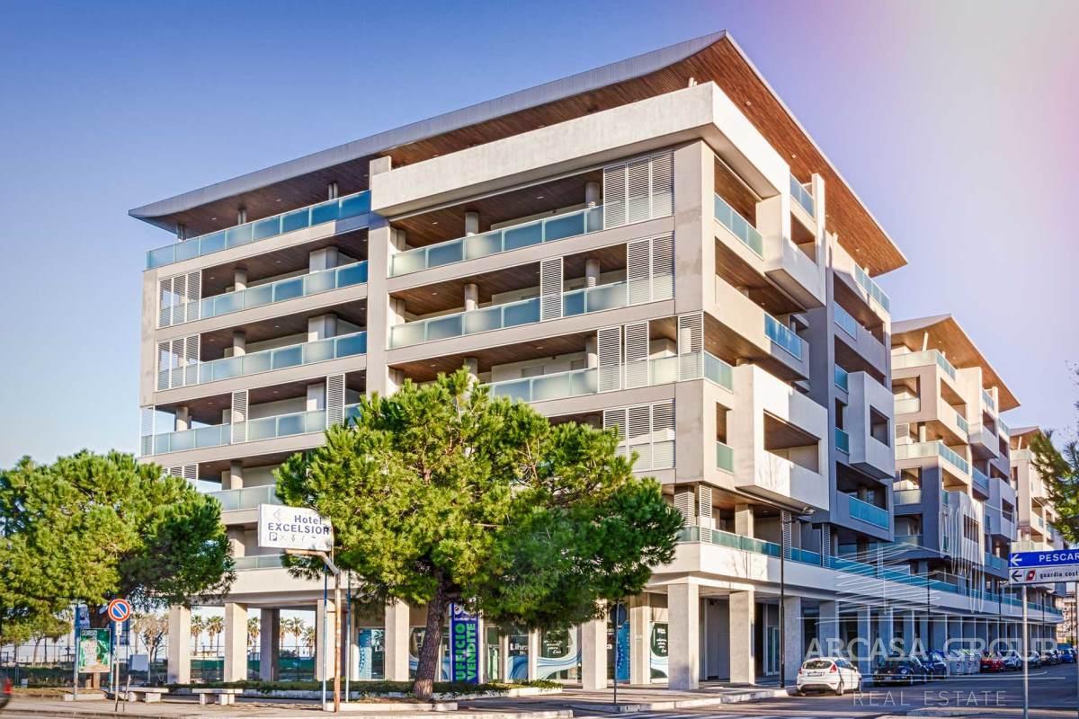 Апартаменты в жилом комплексе у моря
