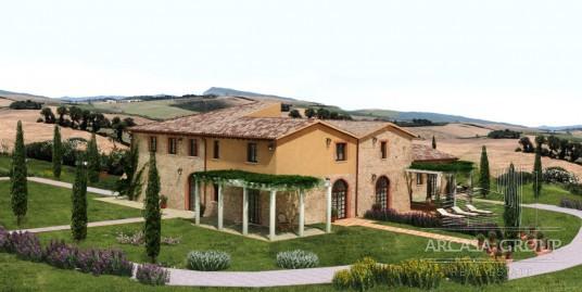 Элитный жилой комплекс в Тоскане, Италия