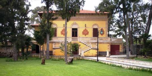 La villa Renna a Francofonte, Sicilia