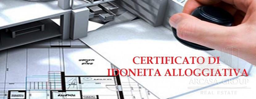 Certificato di idoneita alloggiativa